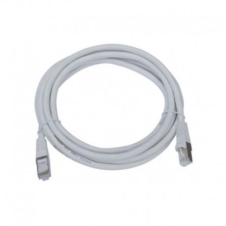Patch cord 2 mts utp Cat 5e. Color Gris. BTICINO C9210U/5E